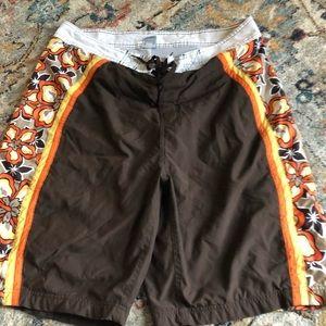 Old Navy Brown Men's Board Shorts
